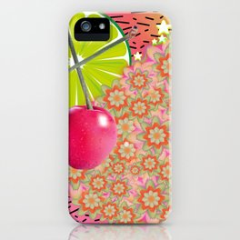 Candied Fruities, Flowered Cooties iPhone Case