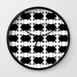 Skull Repeat Wall Clock