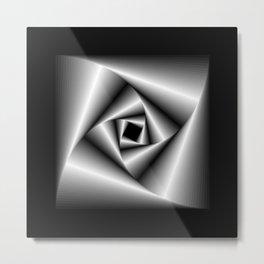 Square Feedback - 04 Metal Print