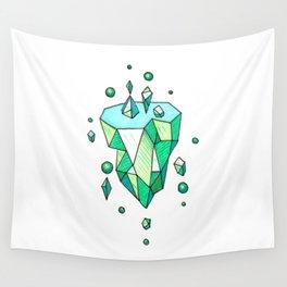 Little Emerald World Wall Tapestry