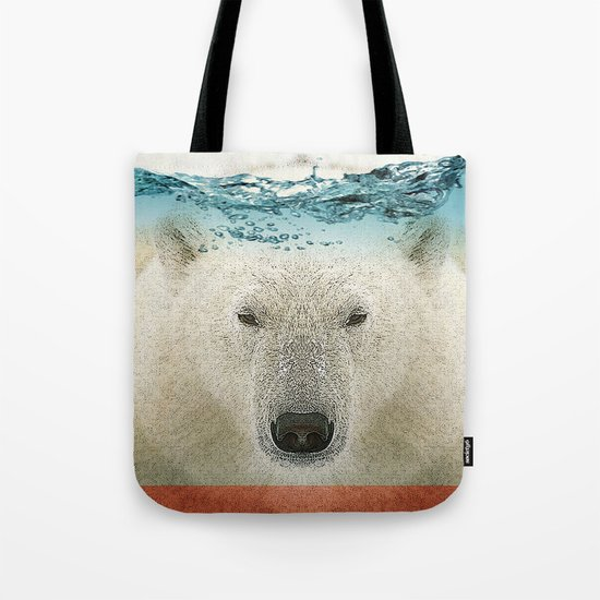 bear line Tote Bag