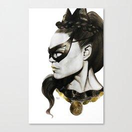 Eartha Kitt IS Catwoman Canvas Print