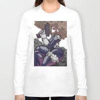punisher Long Sleeve T-shirts featuring The PuniSher  by DaCreativeGenius