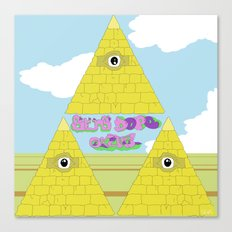 Watch The Tomb Canvas Print