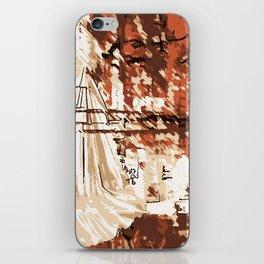 Abschied iPhone Skin