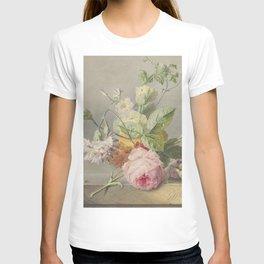 Georgius Jacobus Johannes van Os - Flower arrangement - 1800/1825 T-shirt