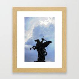 Pegaso A.Q. Framed Art Print