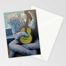 The Furry Guitarist Stationery Cards