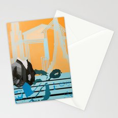 Music to My Head Stationery Cards