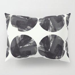 minimal brush stroke geometrical pattern Pillow Sham