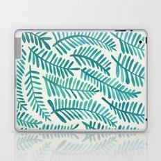 Green Fronds Laptop & iPad Skin