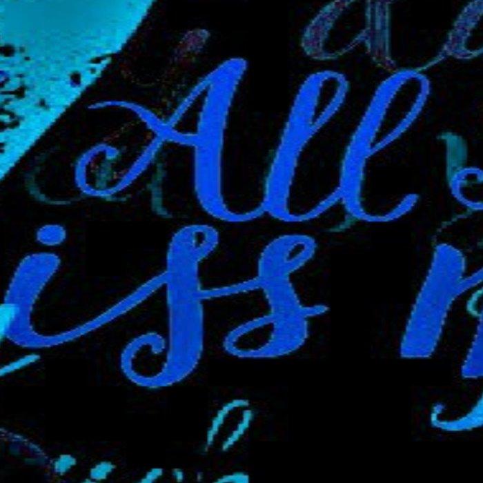 Kiss Me, Miss me Blue Leggings