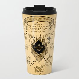 Marauders Map Travel Mug