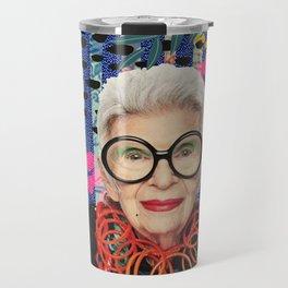 Power Iris Apfel Travel Mug