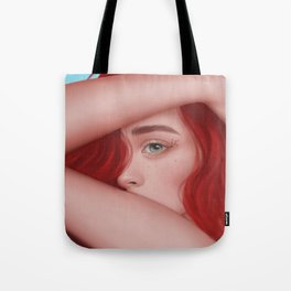 Red hairs Tote Bag