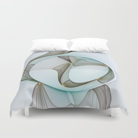 Abstract Elegance Duvet Cover