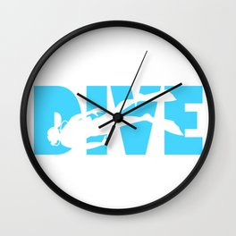 Scuba Diving Wall Clock