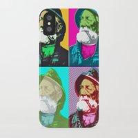 lichtenstein iPhone & iPod Cases featuring Warhol, Lichtenstein & The Fisherman by Christoffer Dupont