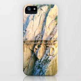 Caminito del Rey iPhone Case