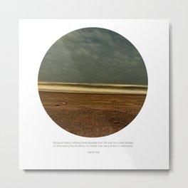 salt water story Metal Print