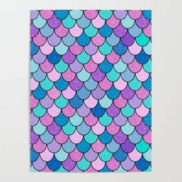 Sparkle Scales Poster