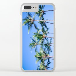 Palms in Living Harmony Clear iPhone Case