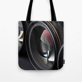 Photo lenses Tote Bag