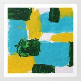Abstract Expression No. 14 Art Print
