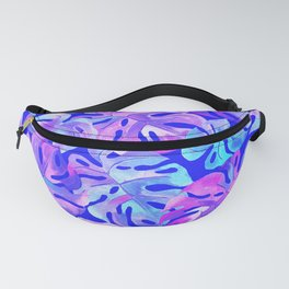 Palm Leaves in Bold Colors Fanny Pack