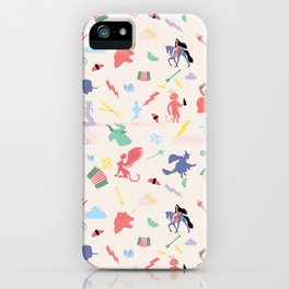Mythological pattern iPhone Case