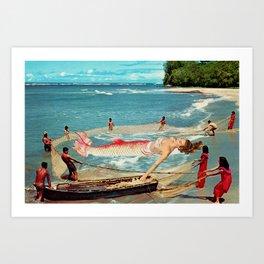 Big Catch Art Print