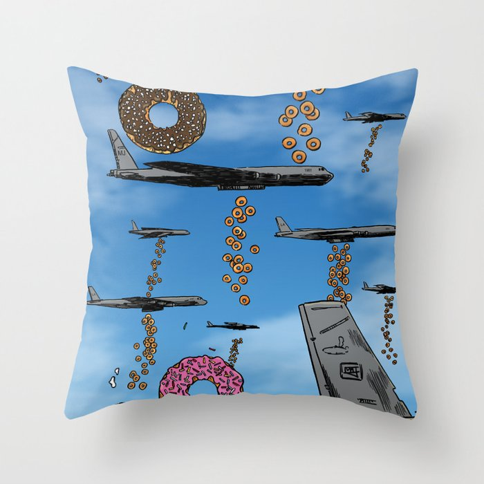 Sweet Payload! Throw Pillow
