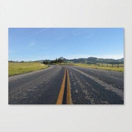 CA Road Canvas Print