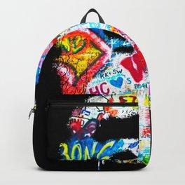Graffiti Hypebeast Bape Illustration Backpack