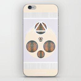 Monkey Head: Circle & Triangle iPhone Skin