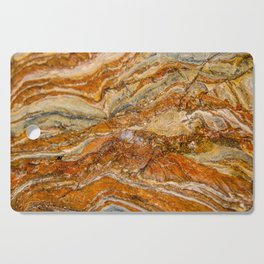 Orange Rock Texture Cutting Board