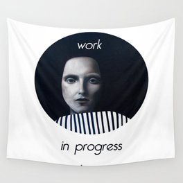 Work in progress by e. - MusA Wall Tapestry