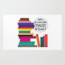 Trop de livres... ou pas ! Rug