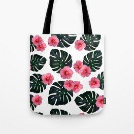 Tropical pattern n.1 Tote Bag