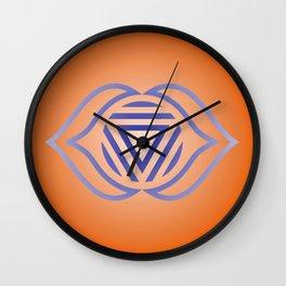 Third Eye Chakra Wall Clock