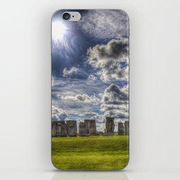 Stonehenge Summer iPhone Skin