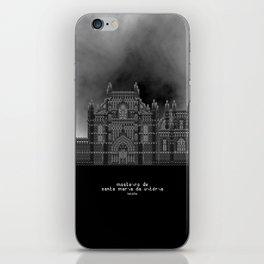 HexArchi - Portugal, Batalha, Mosteiro de Santa Maria da Vitória . Igreja e Capela do Fundador iPhone Skin
