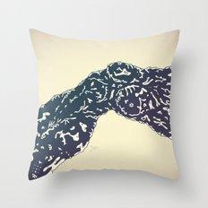 Bonebreathing II Throw Pillow