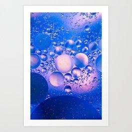 Them crazy bubbles Art Print