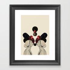 helen and clytemnestra Framed Art Print