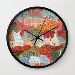 Québec City Wall Clock