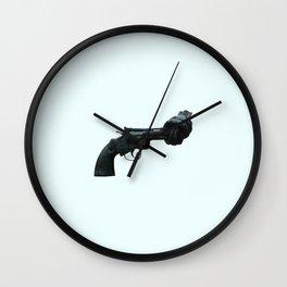Non-violence Revolver Wall Clock
