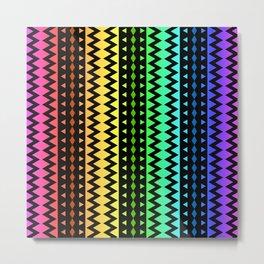 The Rainbow Tribe Metal Print