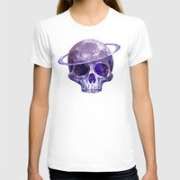 cosmic T-shirts featuring Cosmic Skull by Terry Fan