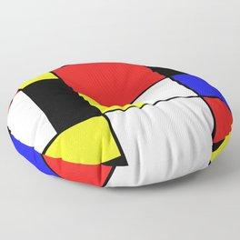 Mondrian #21 Floor Pillow